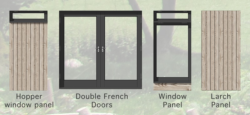 Park Range pod panel options