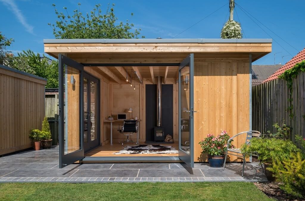 Garden Room Home Office in Bristol