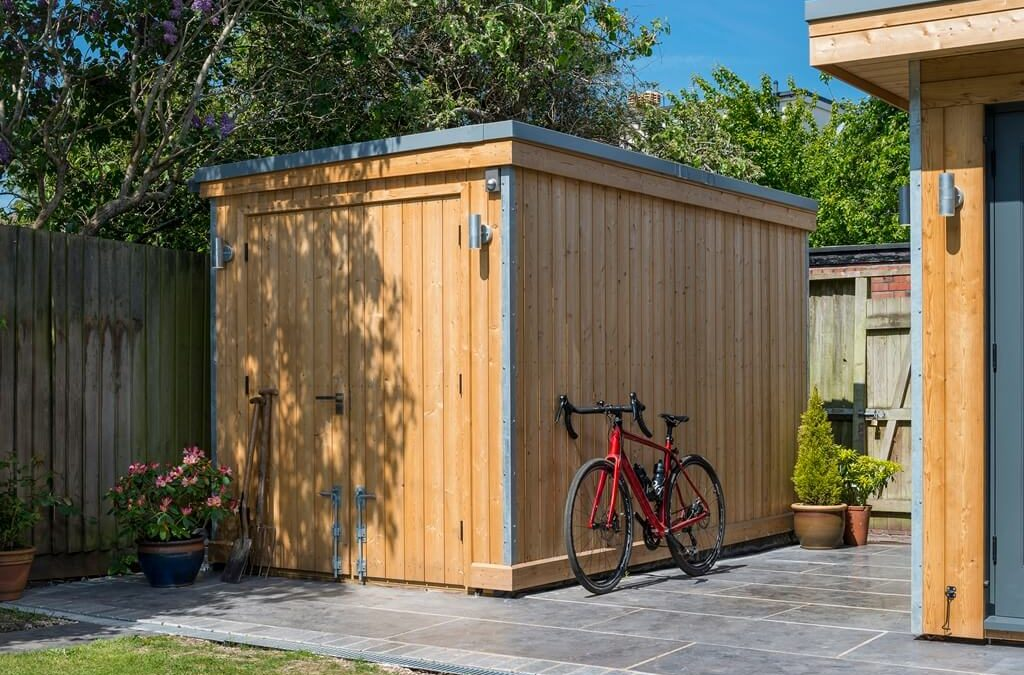 Stylish Garden Storage and Sheds made in Bristol
