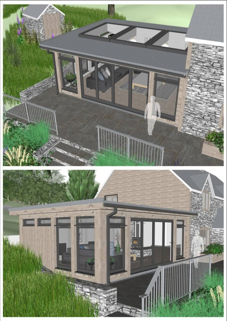 Bespoke Park Range Cottage Extension